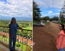 GI fellow Sehrish Jamot in Moshi, Tanzania (Kilimanjaro Christian Medical Centre)
